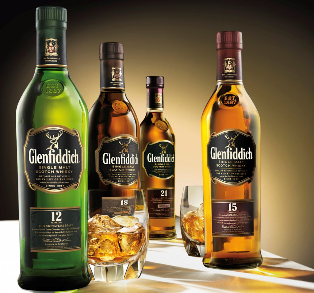 шотландский виски glenfiddich