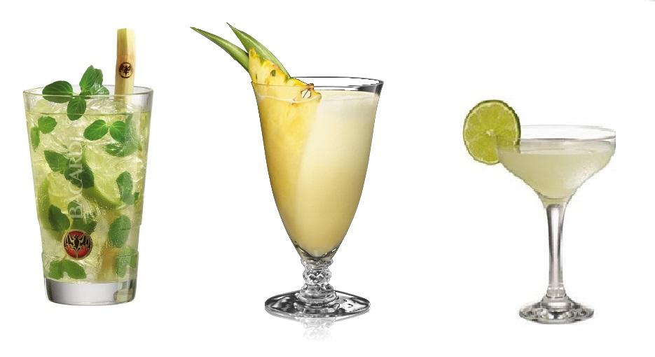 Как сделать коктейли из рома 188
