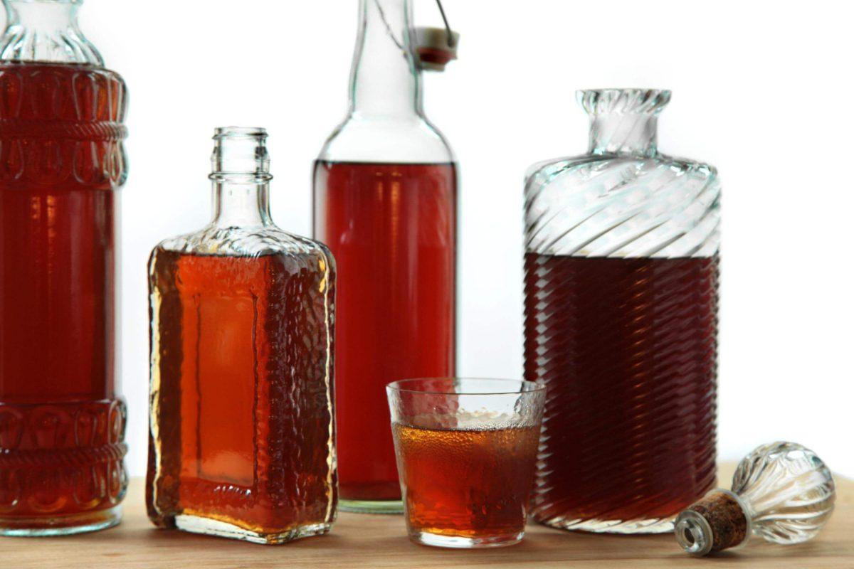 Настойка на спирте в домашних