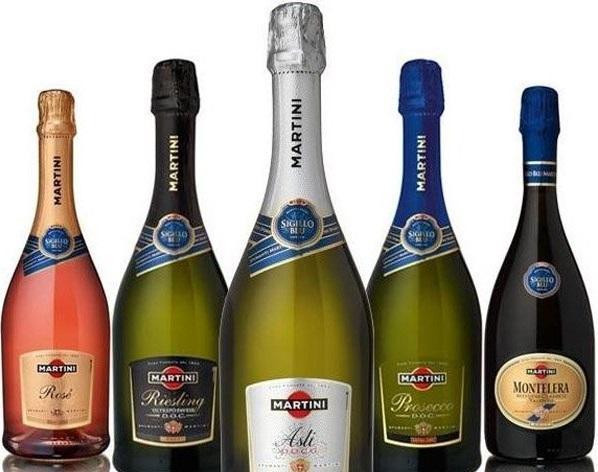 шампанское martini