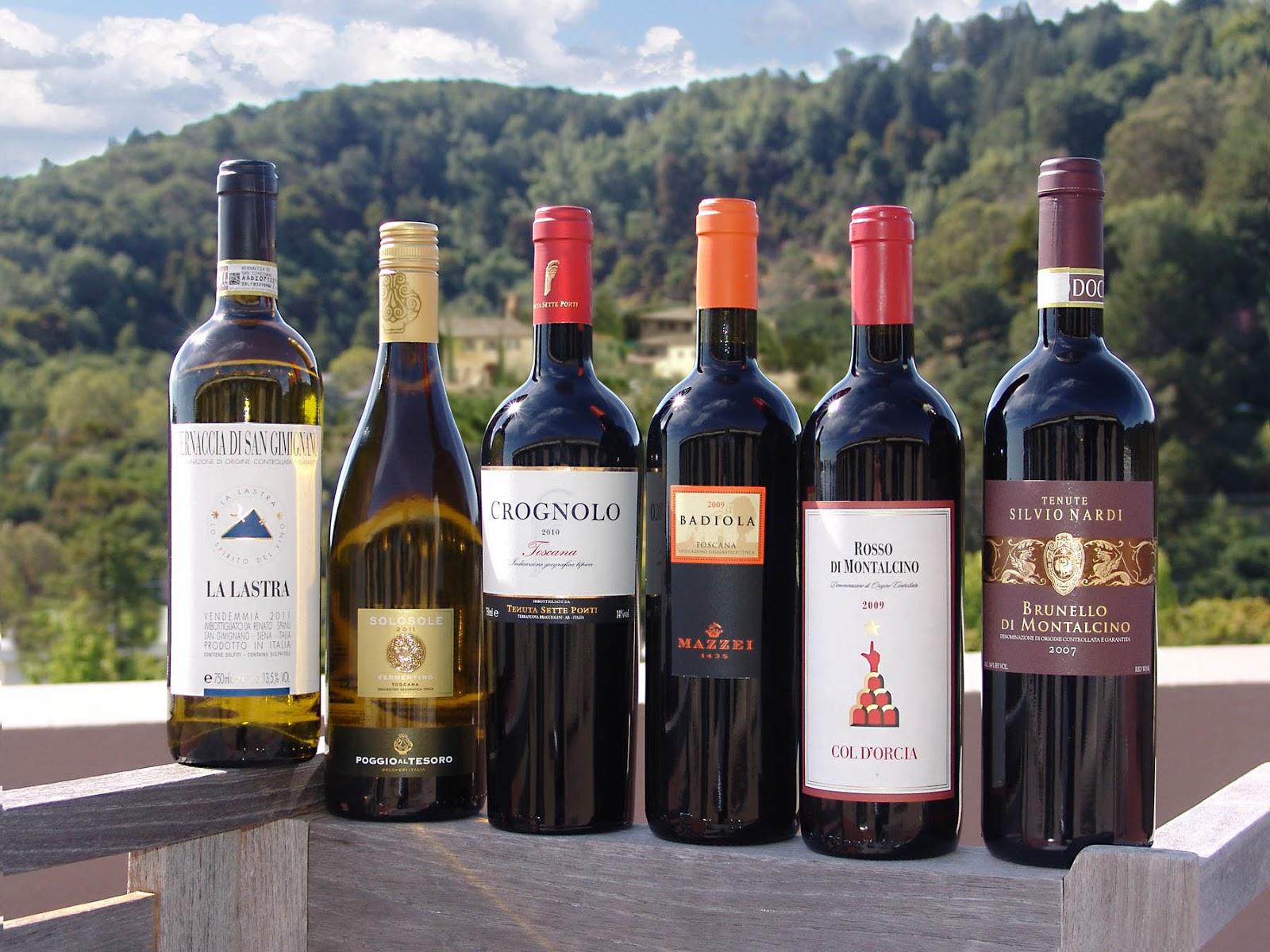 вина италии по регионам