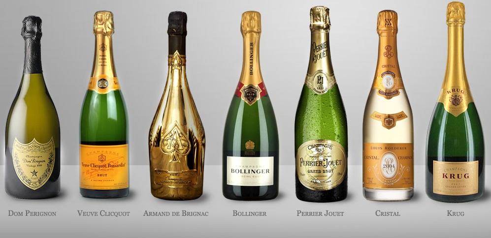 дорогое шампанское название