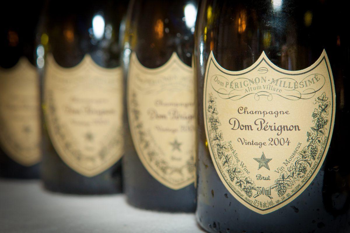 Знаменитое шампанское Дом Периньон