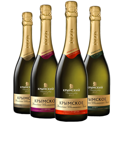Дома шампанских вин из Крыма