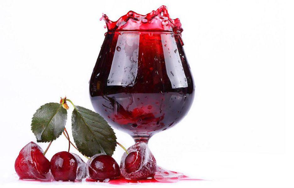 Вино из замороженной вишни