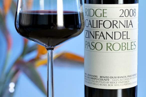 вино зинфандель калифорния