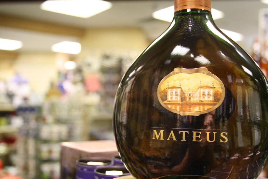 Португальское вино Матеуш (Mateus)