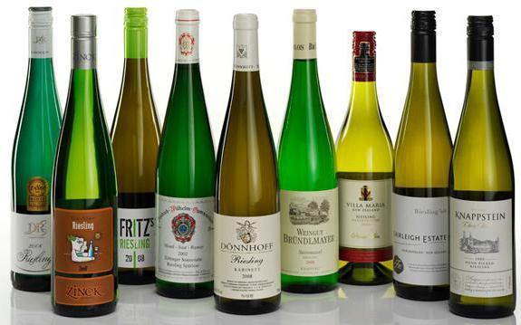 немецкое вино рислинг