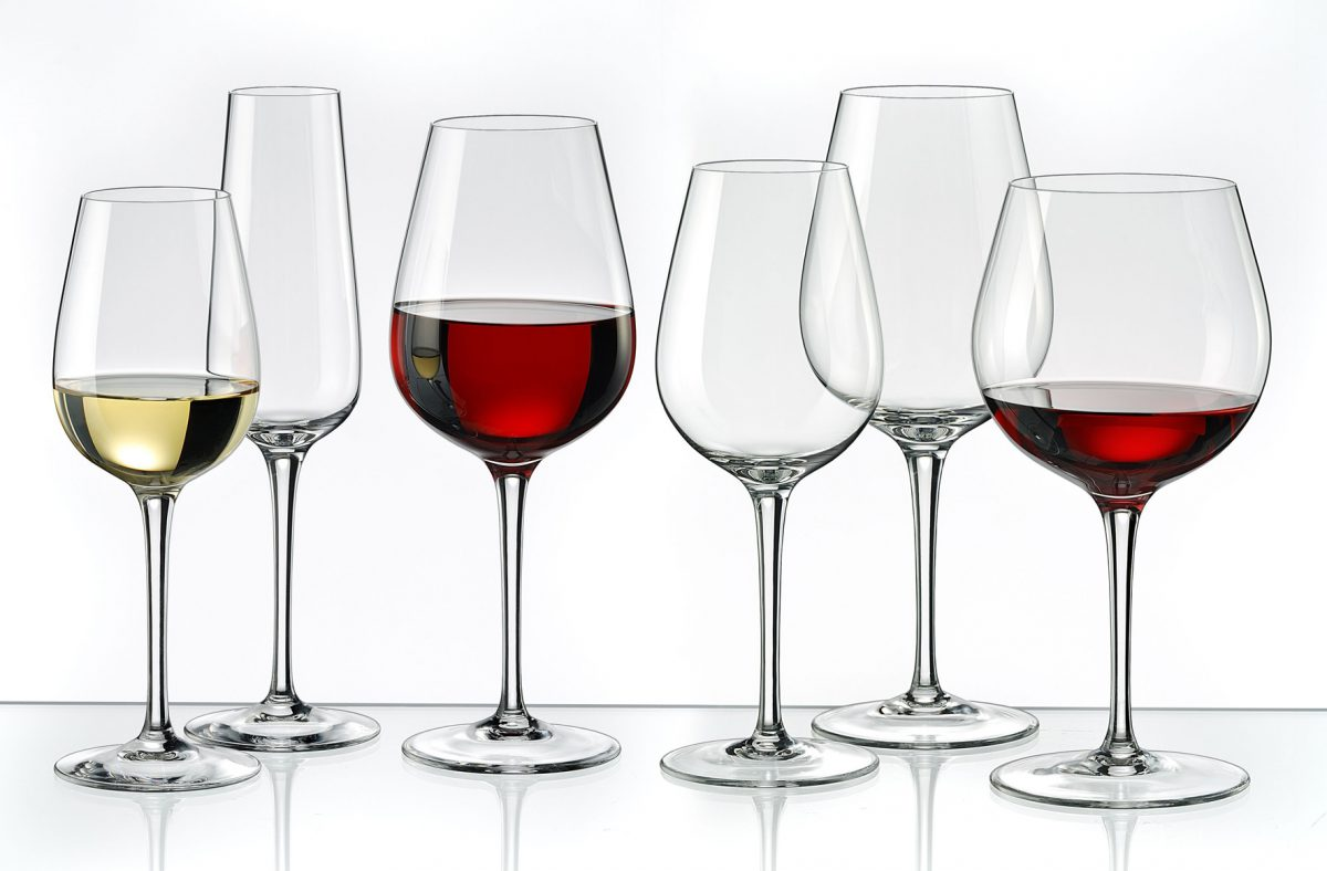 бокал для белого и красного вина разница