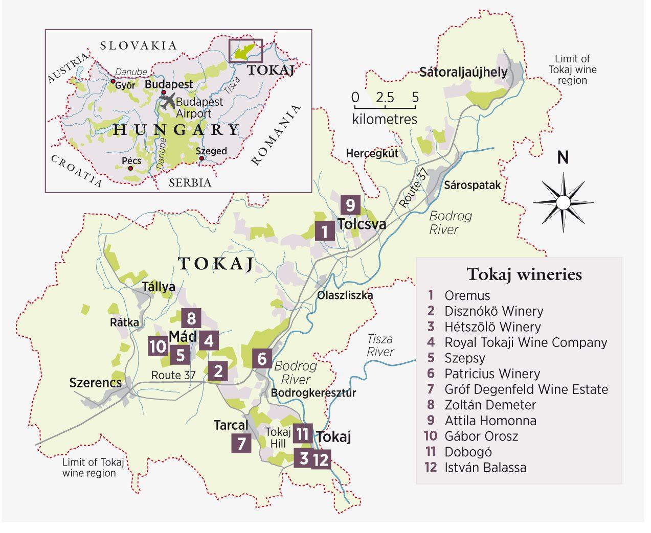 регион Токай