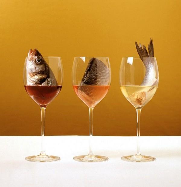 какое вино к красной рыбе