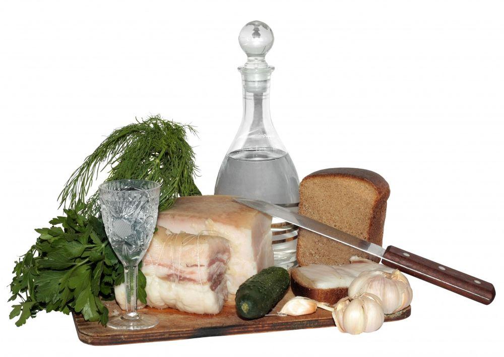 Закуска под водку — чем лучше закусывать, а чем нельзя