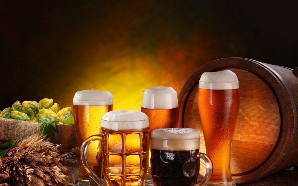 что входит в состав пива