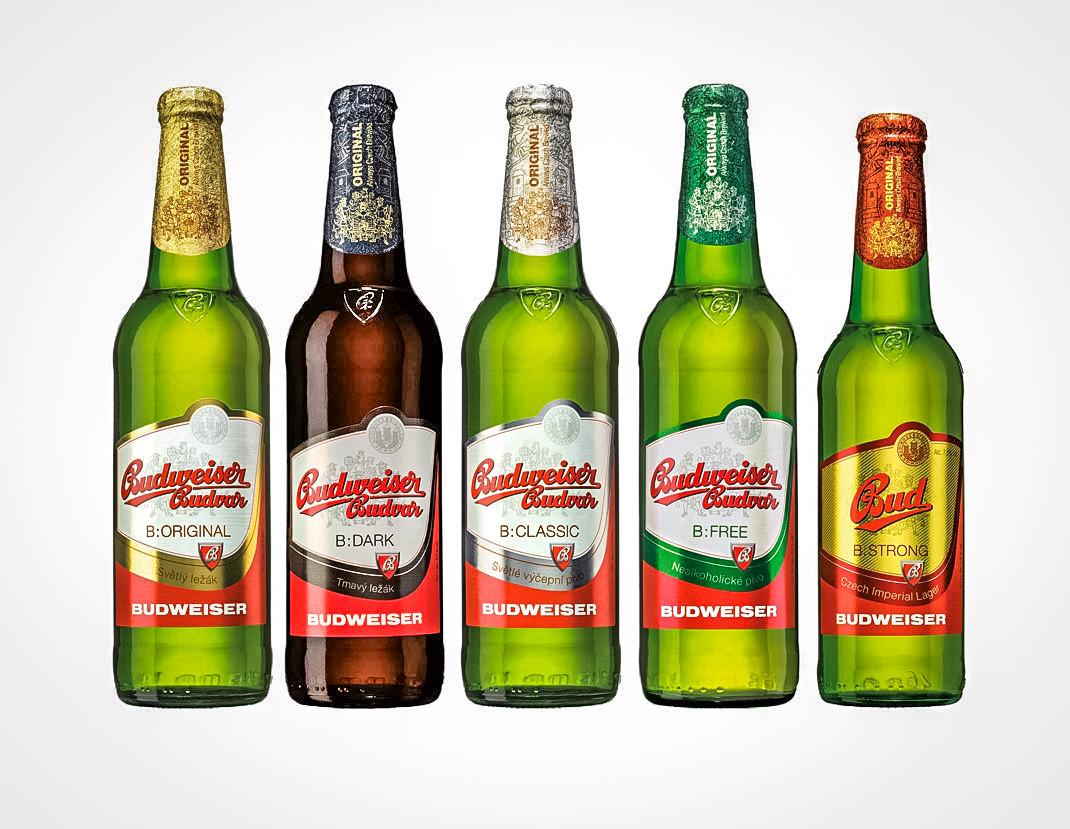 Знаменитое чешское пиво Будвайзер