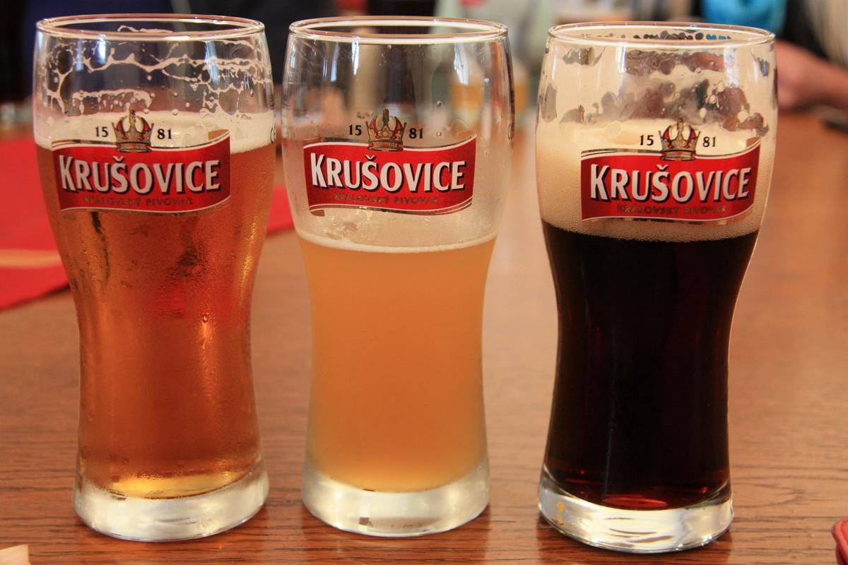 Знаменитое пиво Крушовице (Krusovice)