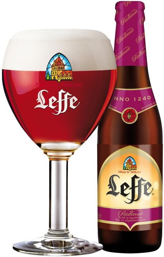 бельгийское пиво леффе