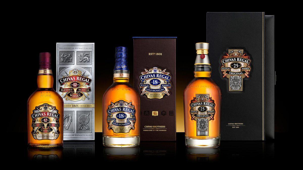 Шотландский виски Chivas Regal