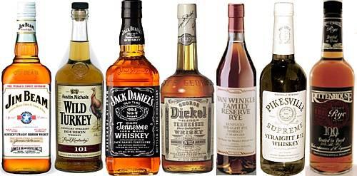 американский виски бурбон