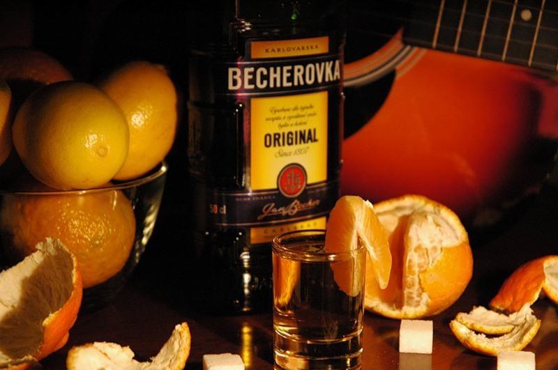 becherovka как пить