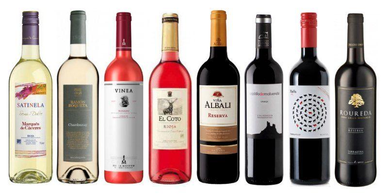 вина испании классификация