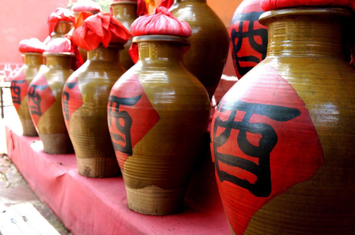 Сливочное и рисовое вино родом из Китая