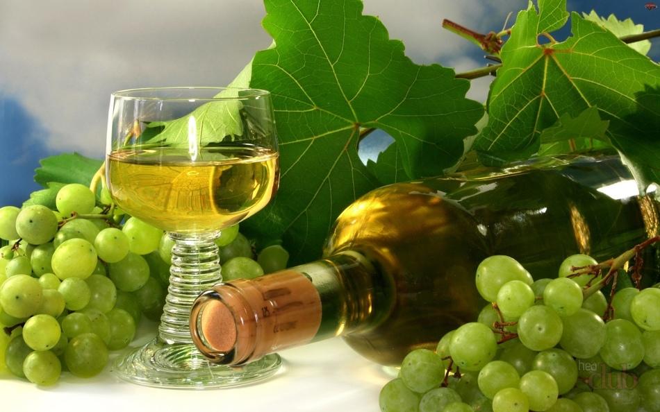 Выбор сорта винограда для белого вино