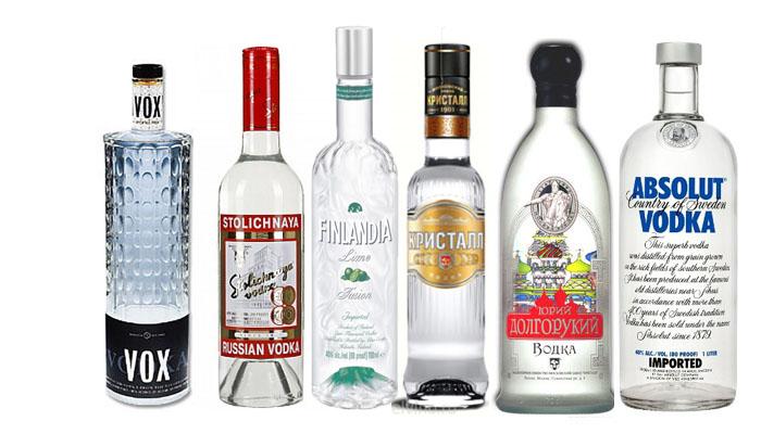 самая популярная водка в россии