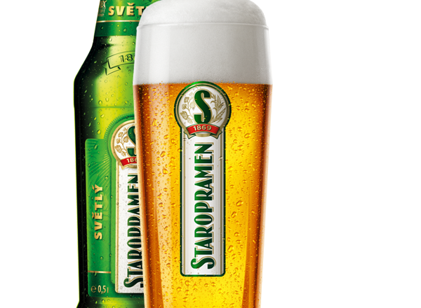 старопрамен пиво